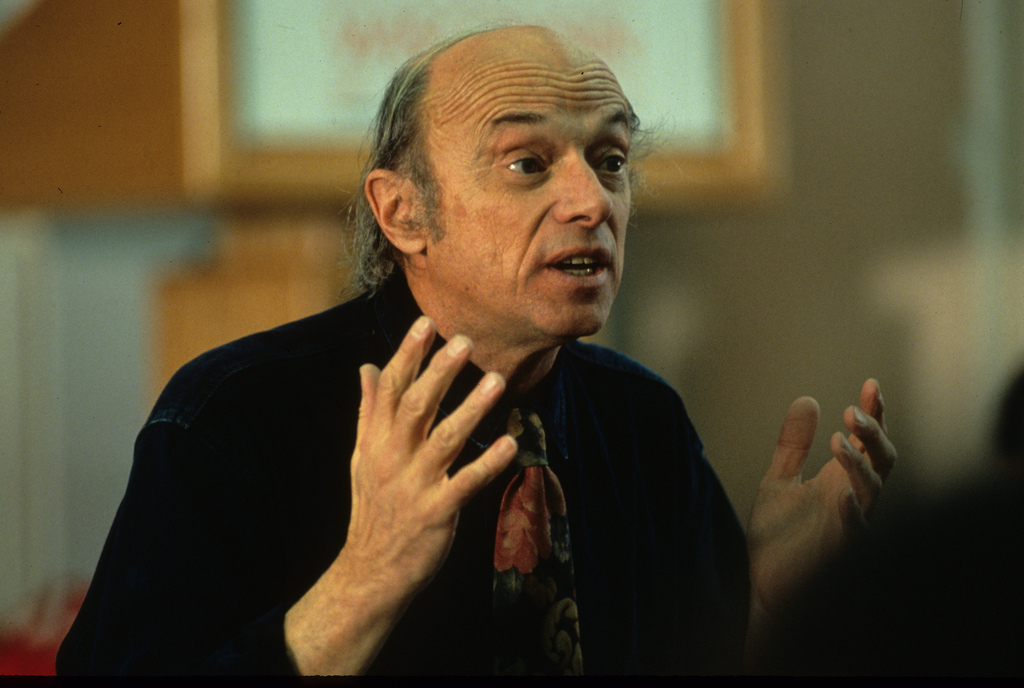 Harold Scheub lecturing in 1993