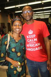 Beatrice Mkenda and Kazeem Sanuth