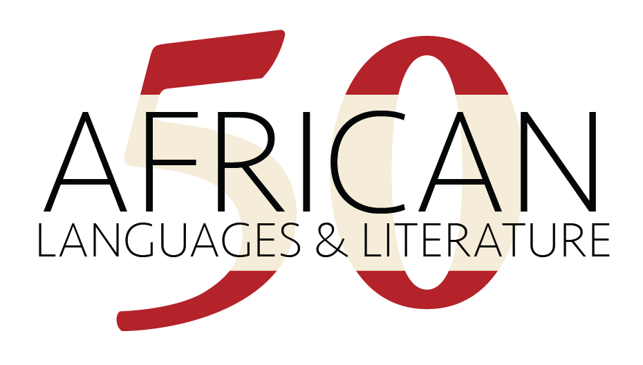 50th Anniversary, Department of African Languages and Literature