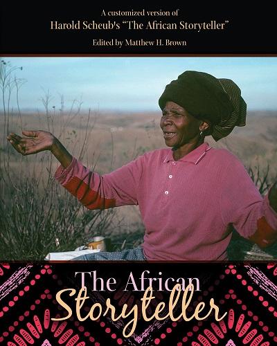 African Storyteller text